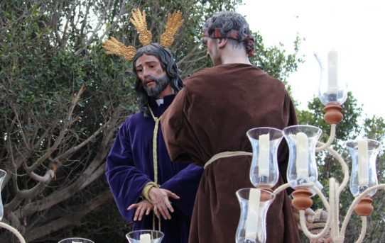 Jesús ante Anas, Málaga